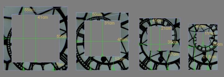 rectngular design dimensions